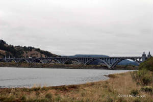 Rogue River Bridge near the Mary D. Hume
