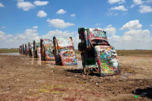 Cadillac Ranch, Amarillo, Texas