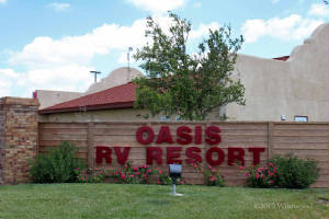 Oasis RV Resort, Amarillo, Texas