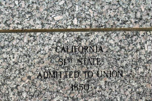 California - 31st State Admitted to the Union