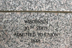 Wisconsin - 30th State Admitted to the Union
