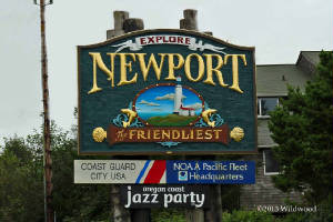 City of Newport sign