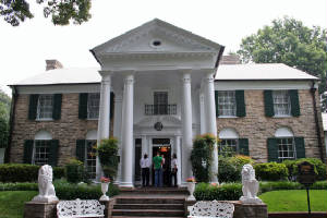 Front of the Graceland Home