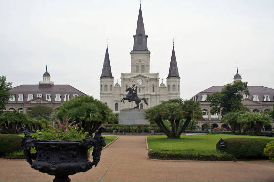 Statue of Andrew Jackson - St. Louis Cathedral